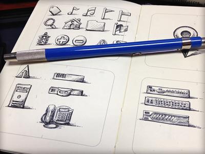 Toodles 6: Sketchy Quatro sketch illustration doodle toodles icons hand drawn