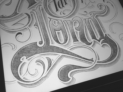 Toodles 147 - Been Away Far Too Long toodles sketch procreate ipad pro apple pencil lettering hand drawn