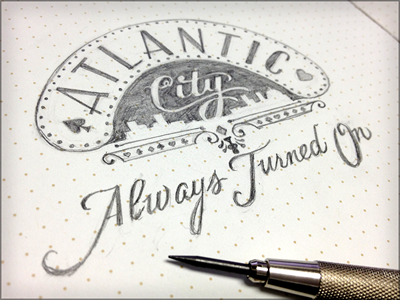 Toodles 20: Always Turned On sketch drawing illustration doodle toodles lettering hand drawn