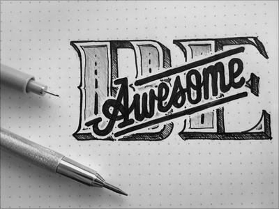 Toodles 150 - Just Be… toodles dot grid traditional drawing sketch micron pencil lettering hand drawn
