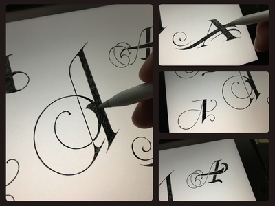 Toodles 151 - A5 toodles sketch procreate ipad pro apple pencil lettering hand drawn