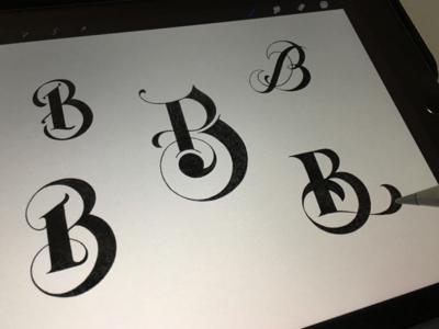 Toodles 152 - Bravo hand drawn lettering apple pencil ipad pro procreate sketch toodles