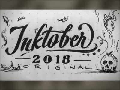 Poisonous - Oct1 '18 inked hand drawn sketch illustration lettering inktober2018 inktober