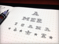 Toodles 29: The Eyechart - Americana Edition