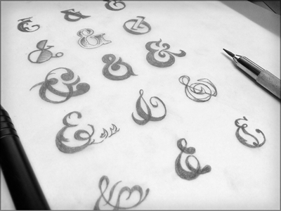 Upcoming amperpack illustration hand drawn pencils lettering