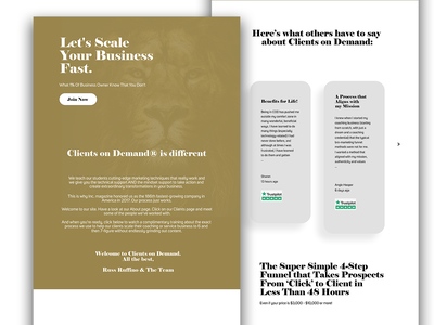 Simple Website Design uiux design website