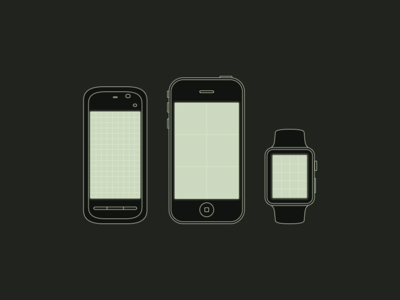 Mobile Device Study: Nokia 5230, iPhone, Watch