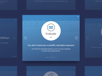 Math4Office Walkthrough math4office microsoft add-on word office design walkthrough ux ui