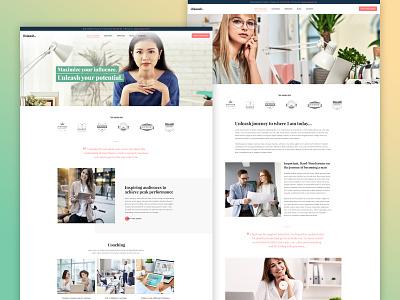 Unleash - Life Coach Template Kit online courses courses coaching solopreneur life coach template kit elementor templates wordpress responsive web design