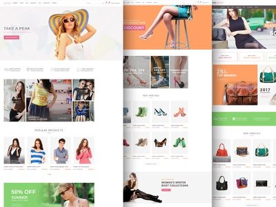 RAB – Fashion eCommerce PSD Template woocommerce shopping shopify shop psd template shop responsive online store modern fashion ecommerce bootstrap
