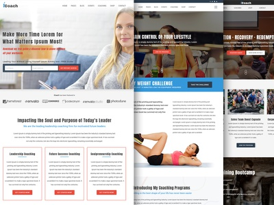 iCoach - For Coaches, Speakers, Fitness Trainers & Entrepreneurs trainer success coach speakers responsive personal trainer mentor life coach health coach fitness trainer entrepreneurs consulting business coaching