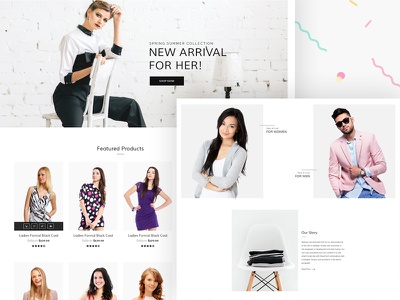 Upcoming WooCommerce Theme (WIP) fashion store woocommerce shopping shop responsive online store modern fashion ecommerce bootstrap