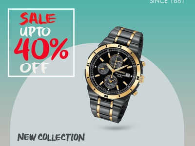 WATCH SEIKO BANNER PS