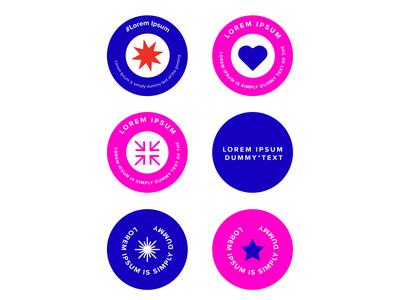 Sticker Pack mock-up mockup typography logo vector branding typogaphy illustration design heart happy sticker sticker design dummy stickers sticker