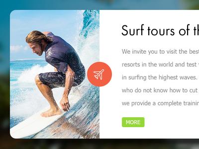 Surf tours