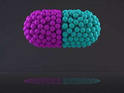 Pill cinema4d animation medicine pill 3d