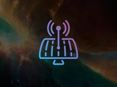 Antenna icon logo antenna