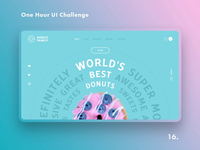 One Hour UI Challenge - 16. - Donut Family