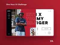 One Hour UI Challenge - 28. - KITH
