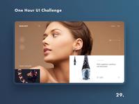 One Hour UI Challenge - 29. - Earrings