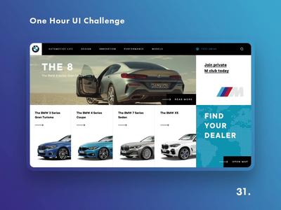 One Hour UI Challenge - 31. - BMW