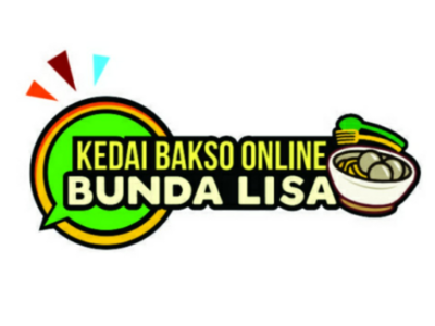 Online food store logo fun meatball store food