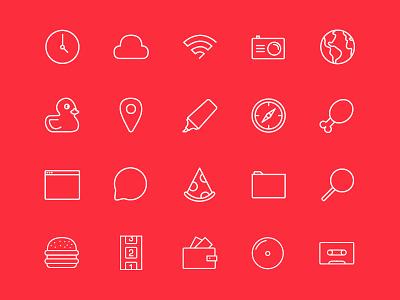 Stripes & Co - Free Icon Set free icon set free icon set stripes  co