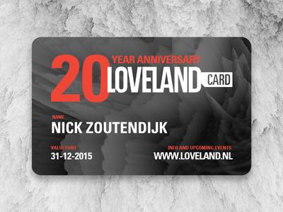 Loveland anniversary card loveland card anniversary event membership embossed