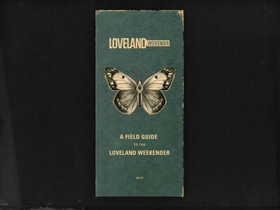 Weekender Field Guide loveland weekender field guide vintage