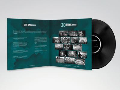 Loveland Recordings - Inside loveland record lp label