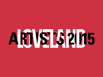 Type exploration artists loveland typography