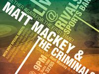 Matt Mackey Flyer