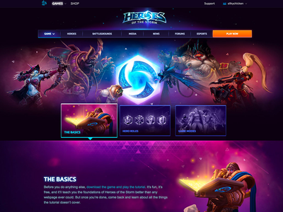 Heroes of the Storm Game Guide website heroesofthestorm gaming gameguide blizzard
