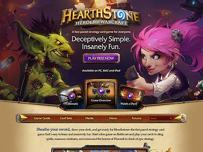 Hearthstone: Goblins vs Gnomes Main website gaming hearthstone blizzard
