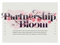 Partnership in Bloom