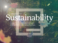 Celebrating Sustainability