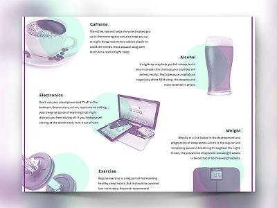 Philips: A Restful Sleep ui overlay icons video insomnia tech data timeline long-form interactive parallax sleep