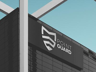 Point Guard Branding illustrator typography vector minimal logo illustration icon flat design branding