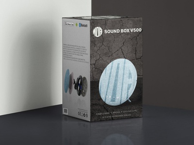 Noa Package Design print product design product speaker package design branding