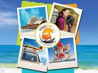 Social media banner - VisaFirst visa travel social media banner design