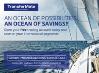 Web banner - Transfermate bank transfer money payment travel banner graphic design