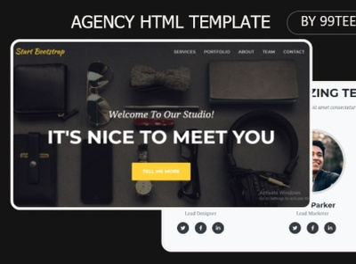 Agency html template 99steem tempalte themes html tempaltes tempaltes steem 99steem