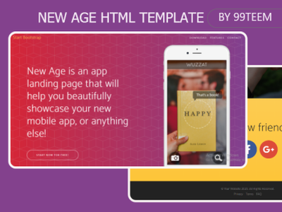 New Age Html Template 99steem html templates website templates template theme html