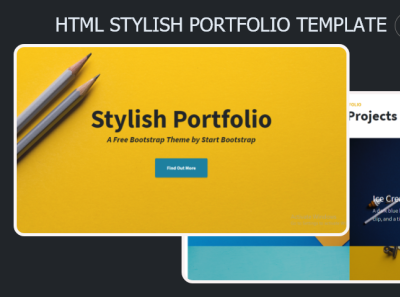 Stylish Portfolio Html Template 99steem html templates website templates template theme html