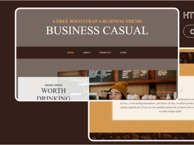 Business Casual html template 99steem html templates website templates template theme html