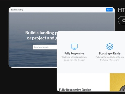 Landing page Html Template 99steem html templates website templates template theme html