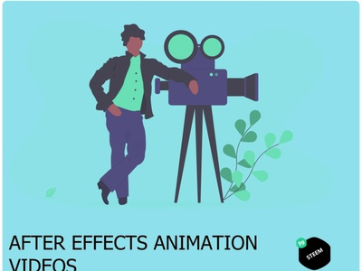 After effect videos animations