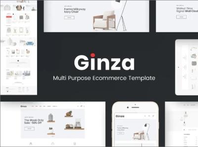 Ginza Furniture Theme for WordPress furniture website theme furniture website