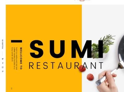 Sumi Restaurant HTML Template restaurant menu cafe html template restaurant html template