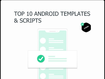 Top 10 Android App Templates & Scripts in 2020 - 99steem 99steem